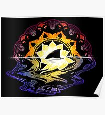 Mandala Sunset Poster