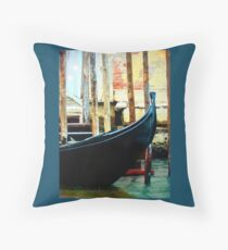 The Water Taxi Throw Pillow