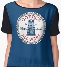 Coerce All Wars (clean) Chiffon Top