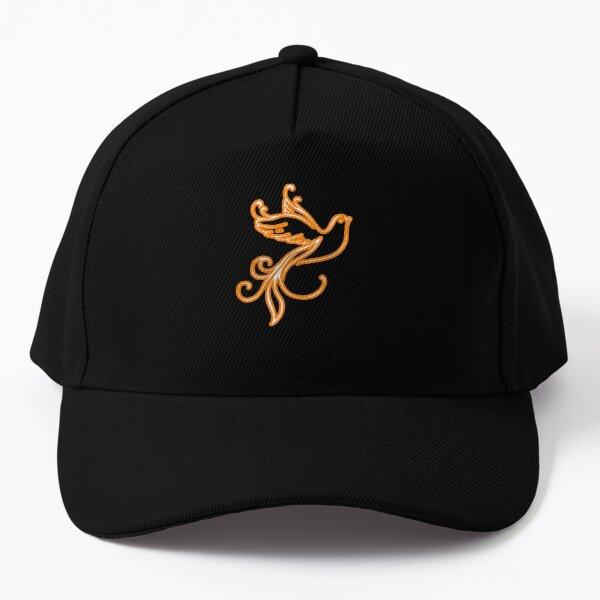 The golden bird Baseball Cap