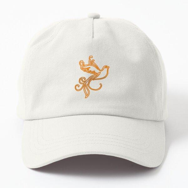 The golden bird Dad Hat