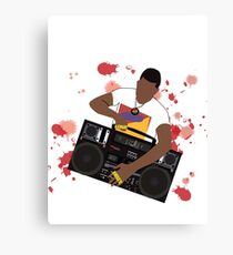 Do the Right Thing - Radio Raheem  Canvas Print