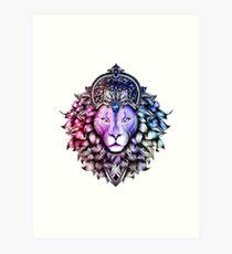 Leo Colorized Art Print