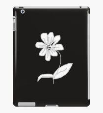 Monochrome Flower iPad Case/Skin