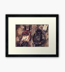 18th Century Samurai #2 Framed Print