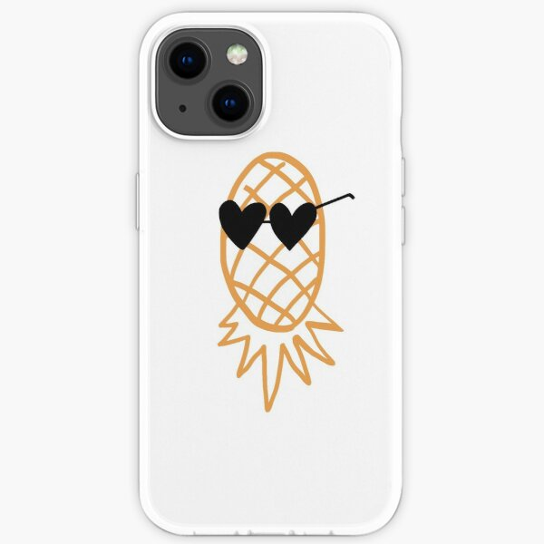 Swinging Lifestyle Pineapple Upside Down iPhone Soft Case
