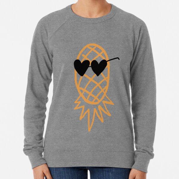 Swinging Lifestyle Pineapple Upside Down Lightweight Sweatshirt
