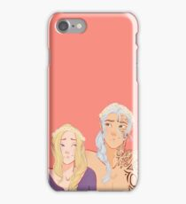 Flower Crowns and Faes  iPhone Case/Skin