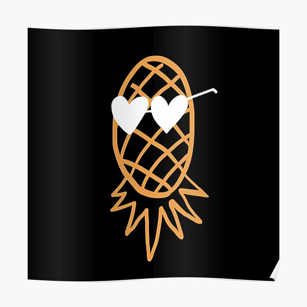 Swinging Lifestyle Pineapple Upside Down Poster