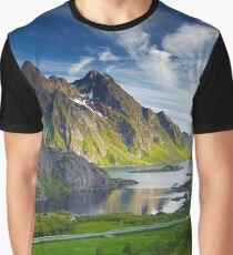Icelandic Moutains Graphic T-Shirt