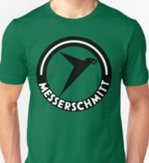 Messerschmitt Aircraft Logo -Black- (No Label) T-Shirt