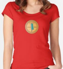 In H.E.L.P.eR. We Trust Venture Bros. Women's Fitted Scoop T-Shirt