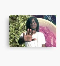Capo Buds Weed and Lean Metal Print