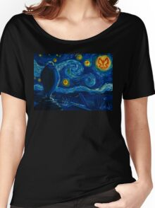 Venture Bros. Starry Night Women's Relaxed Fit T-Shirt