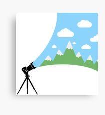 A Cameras Sight Canvas Print