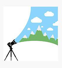 A Cameras Sight Photographic Print