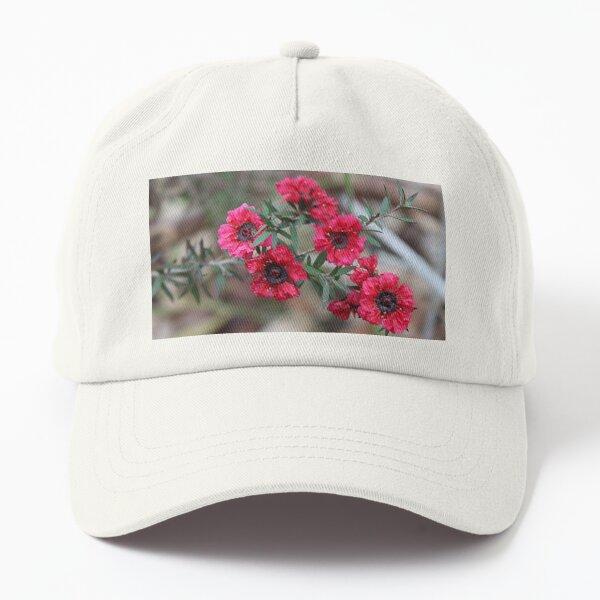 Ruby Tea Tree Flowers Dad Hat