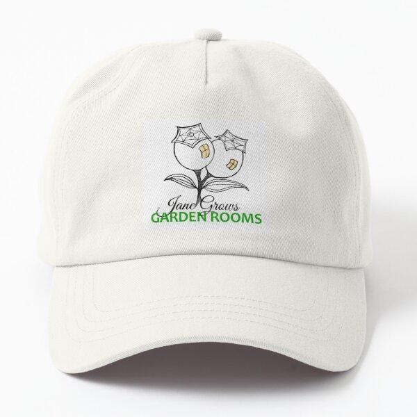 Jane Grows Garden Rooms Logo Dad Hat