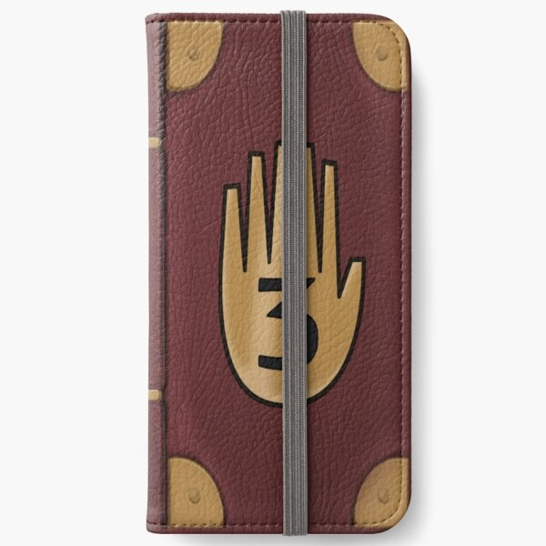 Gravity Falls - Journal 3 iPhone Wallet