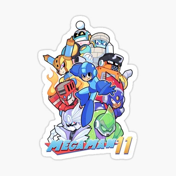 Mega Man 11 Cover Sticker