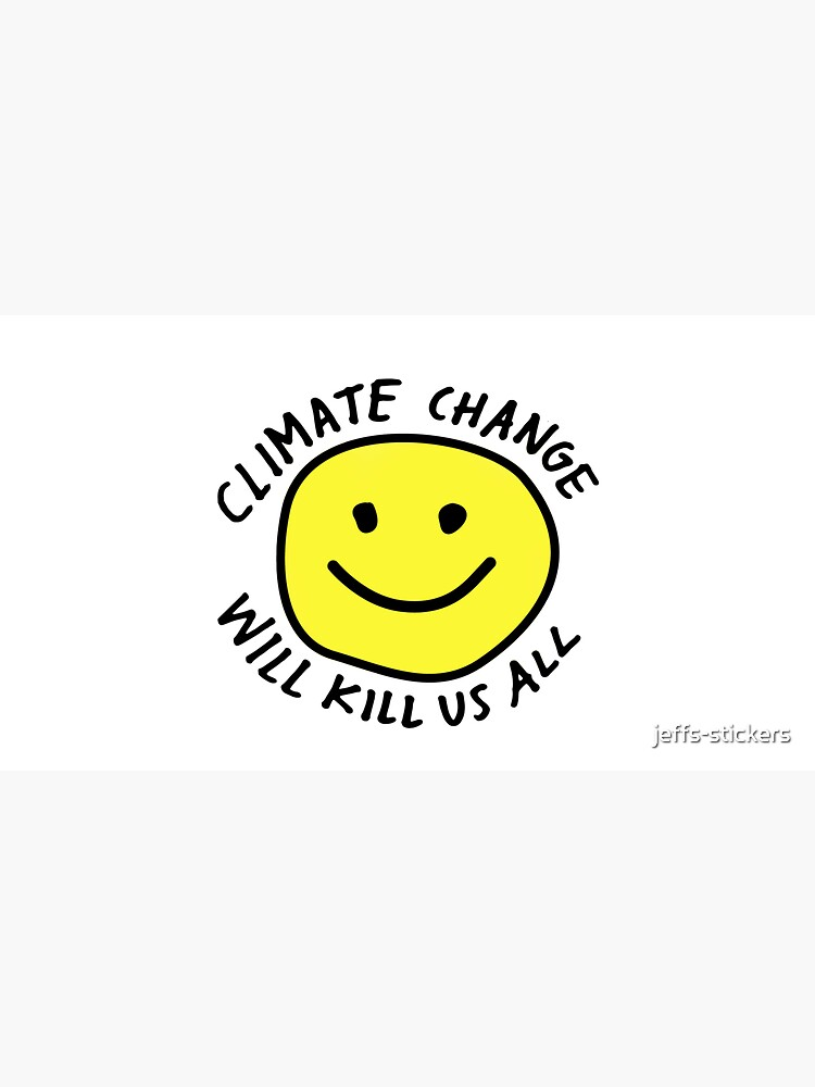 Stop Climate Change by jeffs-stickers