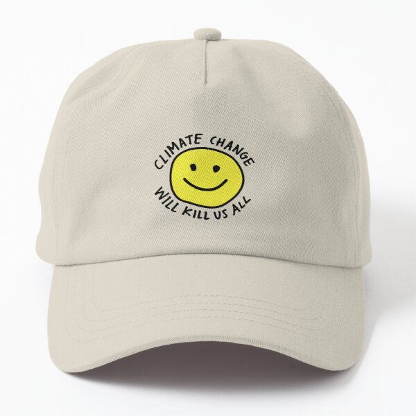 Stop Climate Change Dad Hat