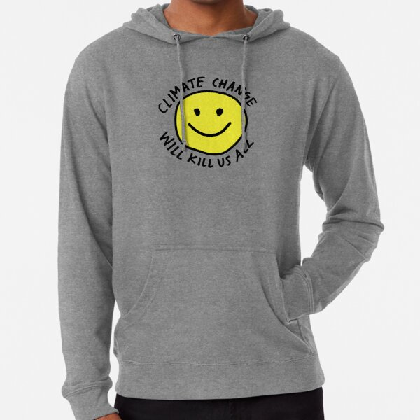 Stop Climate Change Lightweight Hoodie