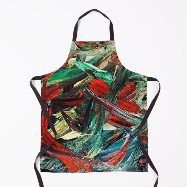 Tainted Forest Print Apron