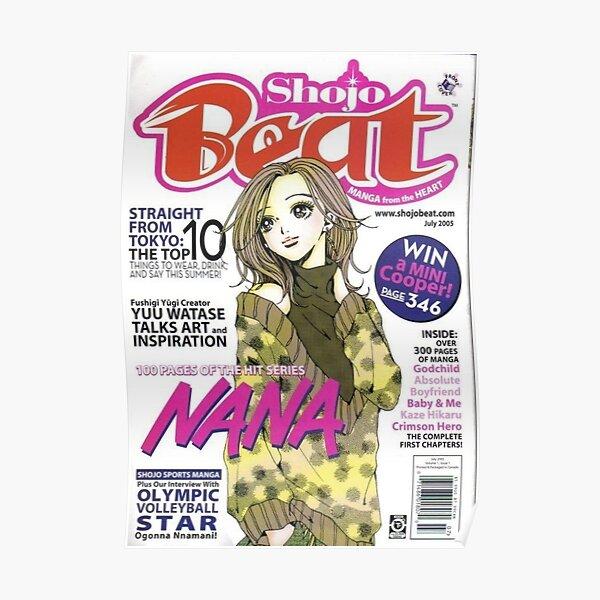 hachi nana magazine cover Poster