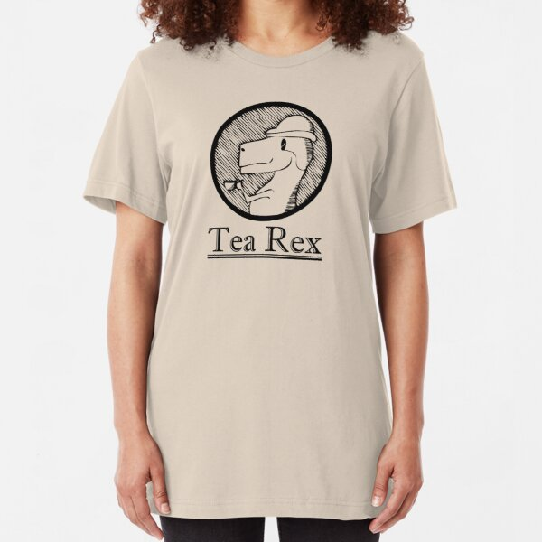 Tea Rex Slim Fit T-Shirt