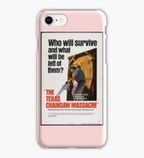 Texas Chainsaw Massacre iPhone Case/Skin