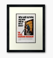 Texas Chainsaw Massacre Framed Print