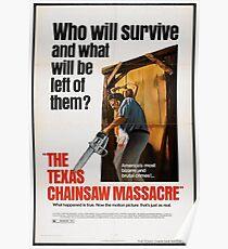 Texas Chainsaw Massacre Poster