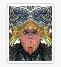 Mirabella H. Lugubrious (Art & Poetry) Sticker