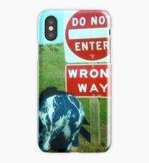 'nough Said iPhone Case