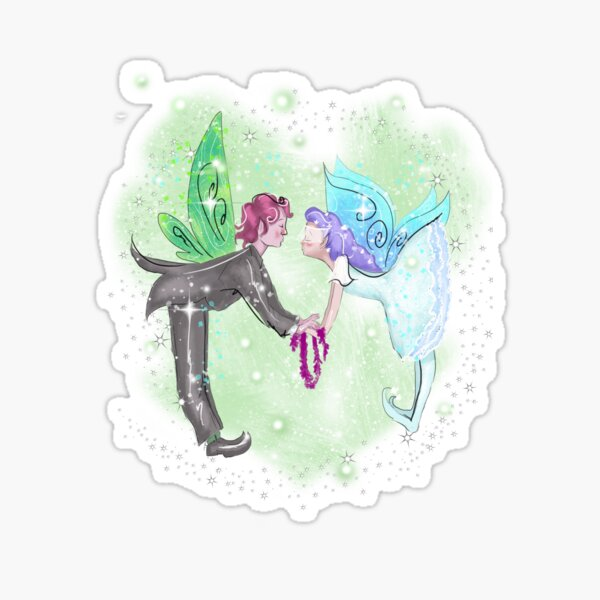 Marriage Fairies Sticker