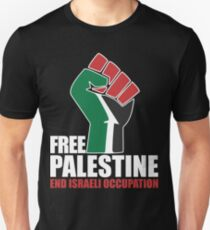 Free Palestine end Israeli Occupation T-Shirt