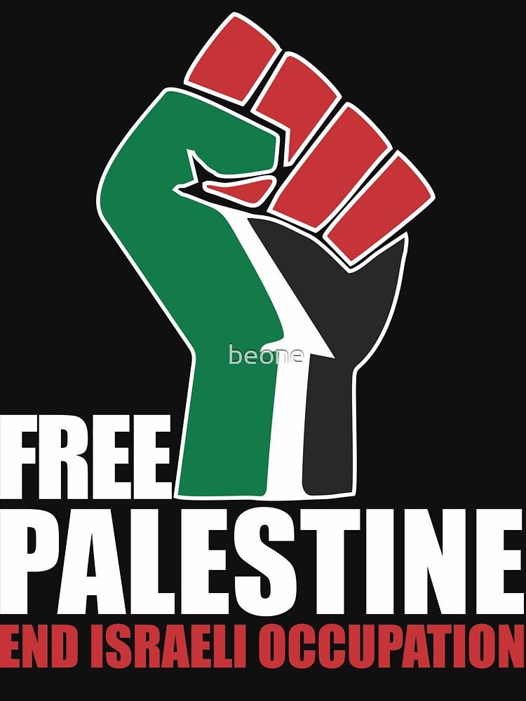 Free Palestine end Israeli Occupation | Unisex T-Shirt