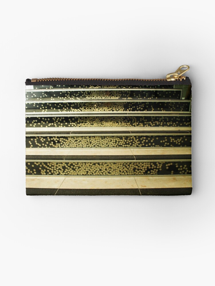 'Staircase full of five cent coins - The Mint, Canberra' Studio Pouch by  Bev Pascoe
