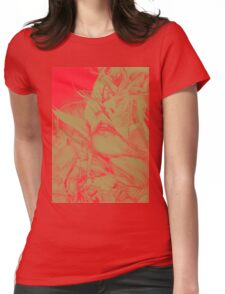 Burning Flame, 2016, 50-70cm, graphite crayon on paper Womens Fitted T-Shirt