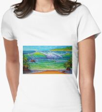 Thoughtful Reflections Women's Fitted T-Shirt