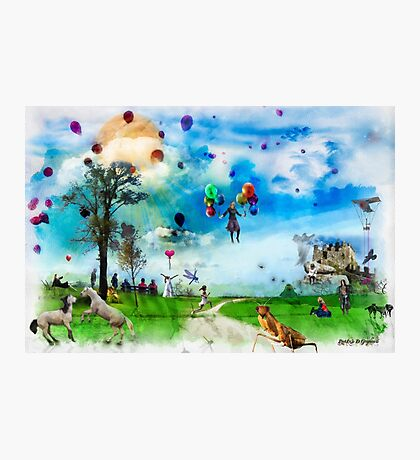 The Land of Stories & Nursery Rhymes Photographic Print
