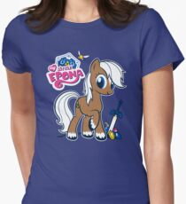 My Little Epona Womens Fitted T-Shirt