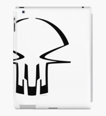 race skull - black iPad Case/Skin