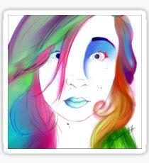 Zoe Colegrove - Self Portrait Sticker