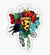 Bouquet fit for me:Pizza Sticker