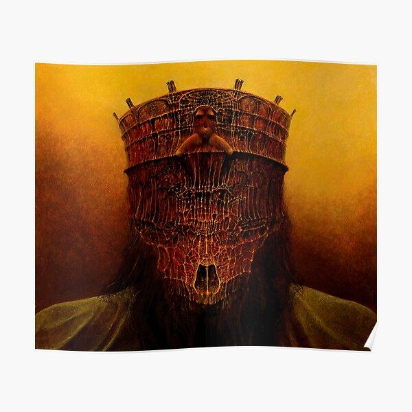Untitled (The King) by Zdzislaw Beksinski Poster