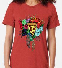 Bouquet fit for me:Pizza Tri-blend T-Shirt