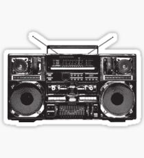 Boombox Ghetto Blaster Sticker