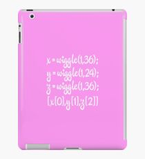 wiggle, wiggle, wiggle iPad Case/Skin